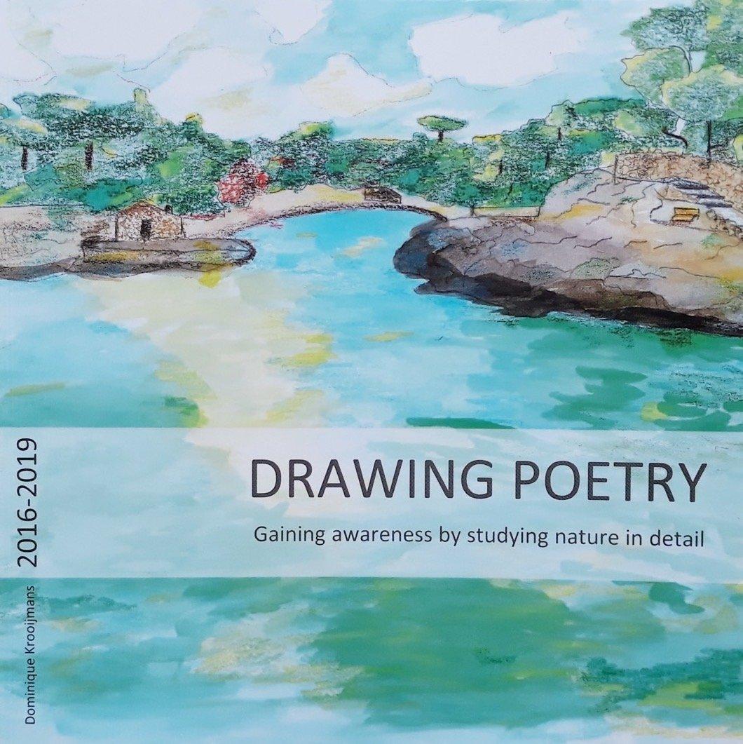 Bookcover van Drawing Poetry door Dominique Krooijmans